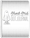 """BookFactory Ghost Grid Dot Journal / Bullet Notebook 120 pages 5.5"""" x 8.5"""" Wire-O (JOU-120-HLCW-A(DotJournal))"""