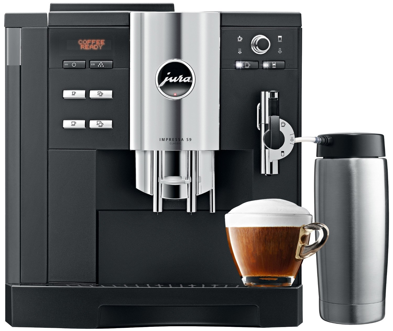 Jura Impressa S9 Classic One Touch Espresso Coffee Machine (Black)