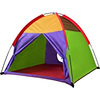 "Alvantor Kids Tents Indoor Children Play Tent For Toddler Tent For Kids Pop Up Tent Boys Girls Toys Indoor Outdoor Playhouse Camping Playground 8010 Rainbow 48""x48""x42"""