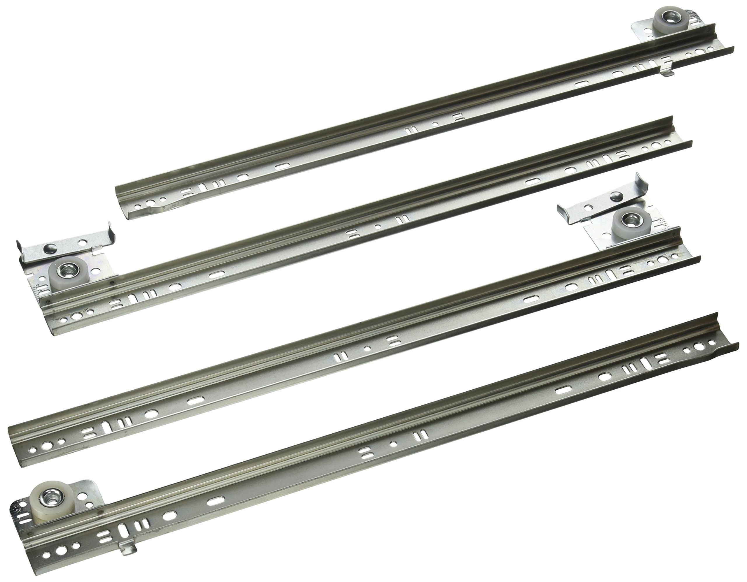 Knape & Vogt 1300P ZC 16'' Drawer Slides Extension