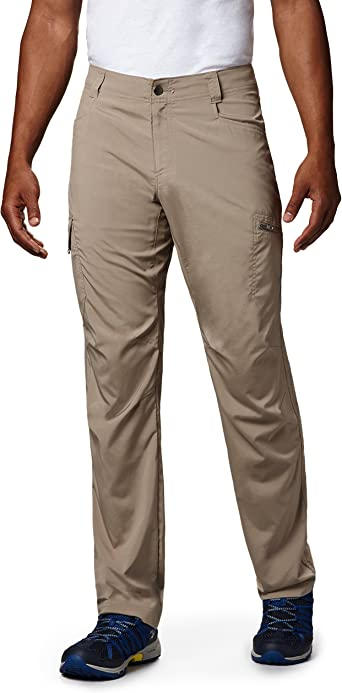 "New Mens Columbia /""Bonehead/"" Straight-Legged Pant Omni-Shade Cotton Pants"
