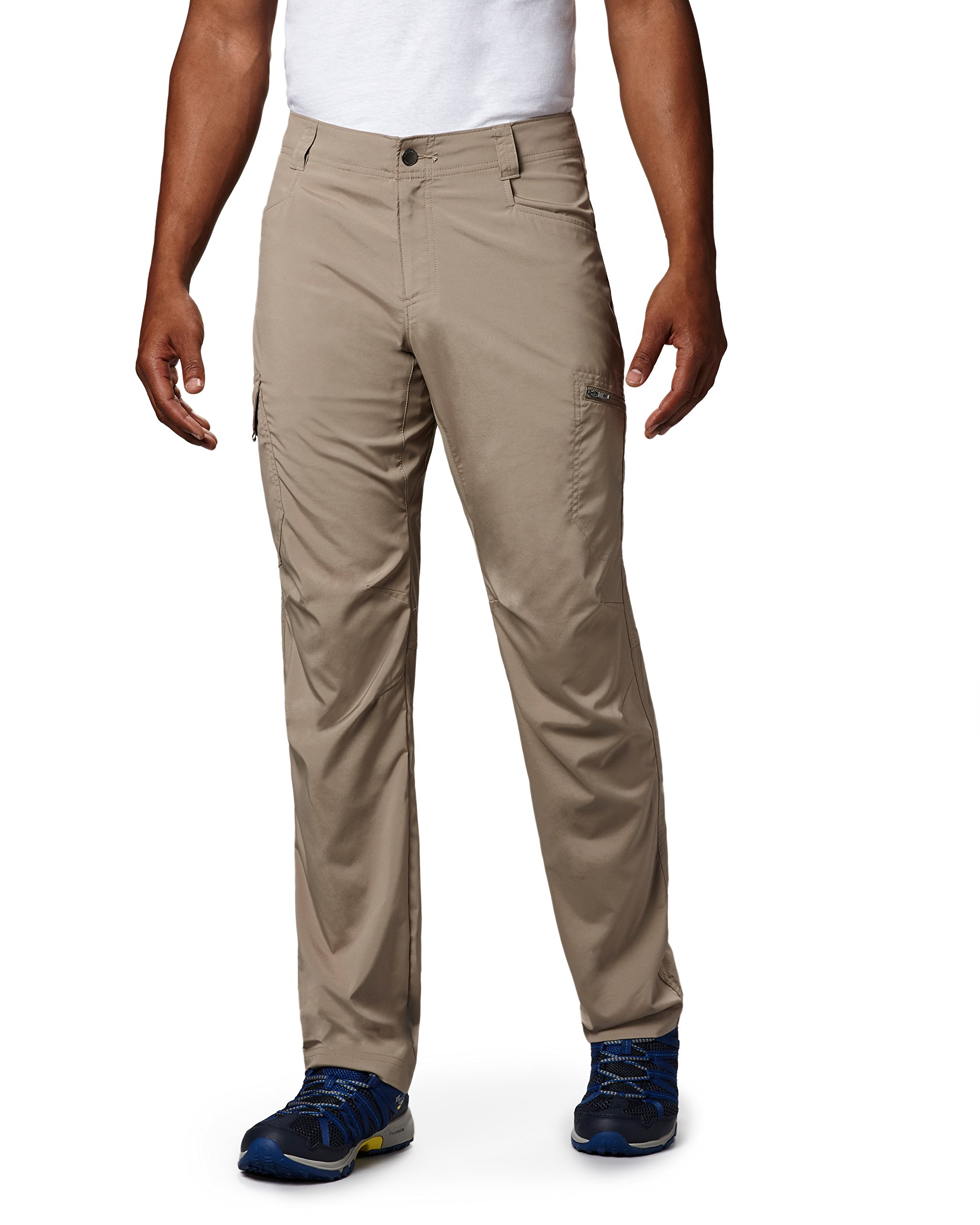 Columbia Men's Silver Ridge Stretch Pants, Tusk, 30 x 30