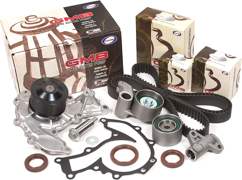 Evergreen TBK303VC Fits 98-03 Isuzu 3.2 /& 3.5 6VD1 6VE1 Timing Belt Kit Valve Cover Gasket GMB Water Pump