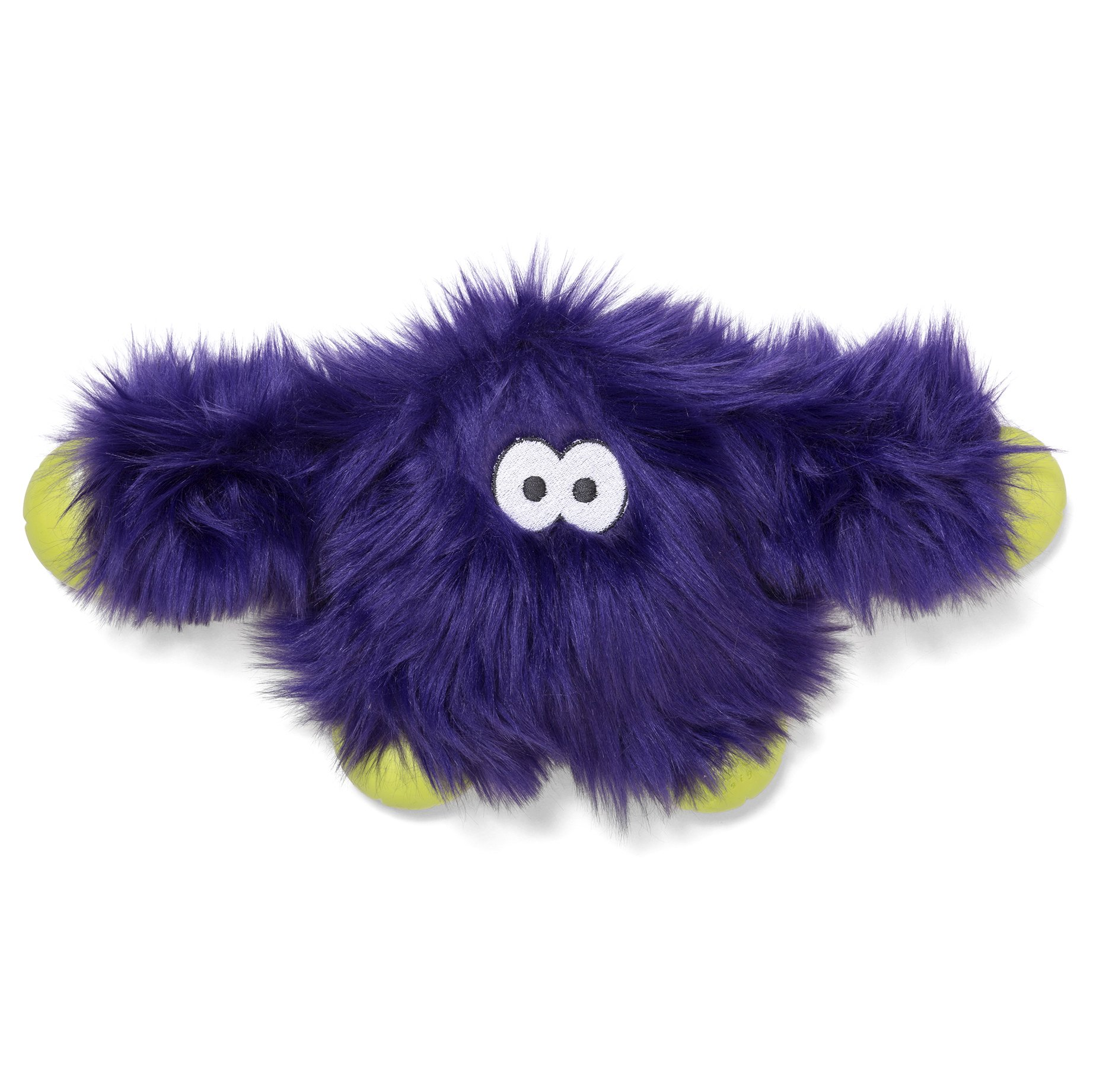 West Paw Rowdies with HardyTex and Zogoflex, Durable Plush Dog Toy for Medium to Large Dogs, Jefferson, Purple Fur by West Paw Design
