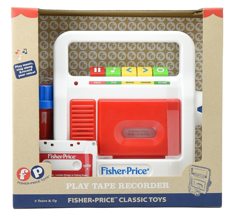 Amazon.es: Asmokids - magnetófono Fisher Price Juego electrónico, rcdkk01