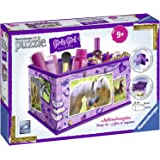 Ravensburger 12072 - 3D Puzzle Girly Girl Edition Aufbewahrungsbox Pferde