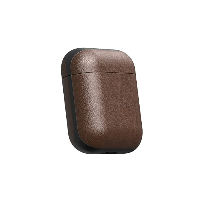 Nomad Airpods Case Rustic Brown Horween Leather AirPod Charging Case not Included