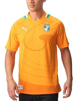 ecdf14830 Puma Côte d Ivoire T-Shirt mixte adulte Orange XL  Amazon.fr  Sports ...