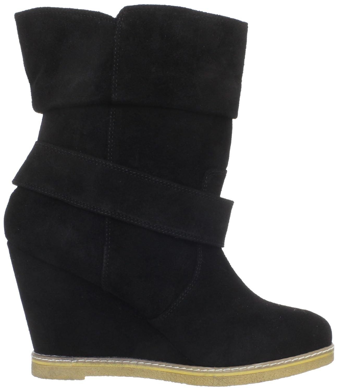 e7321cb2f9b29 Amazon.com   Kelsi Dagger Brooklyn Women's Haley Boot, Black, 8 M US    Ankle & Bootie