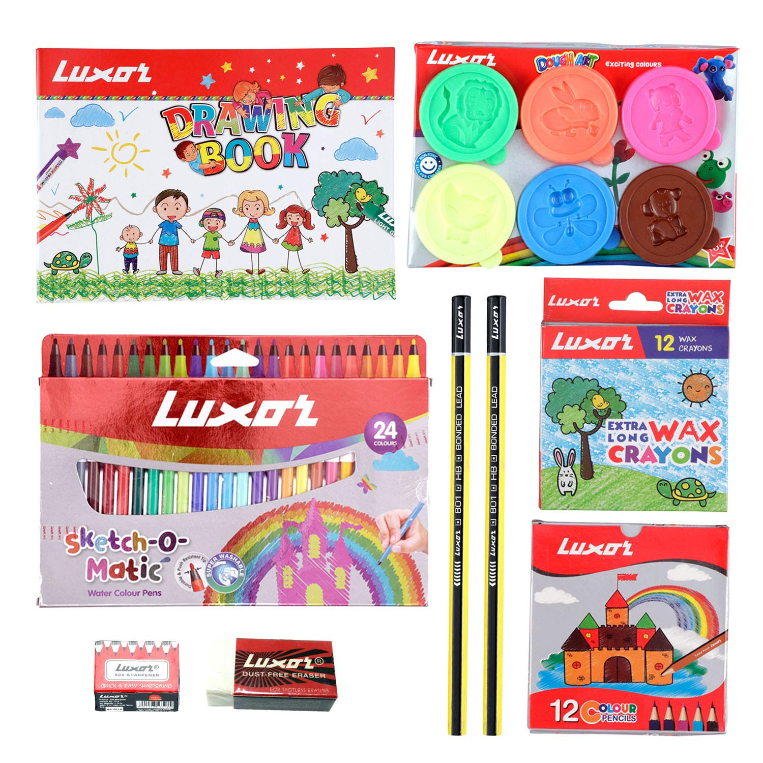 Luxor Play from home combo with Zipper Pouch