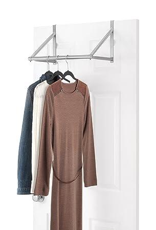 Amazon Whitmor Over The Door Closet Rod Hanging Clothes Rack