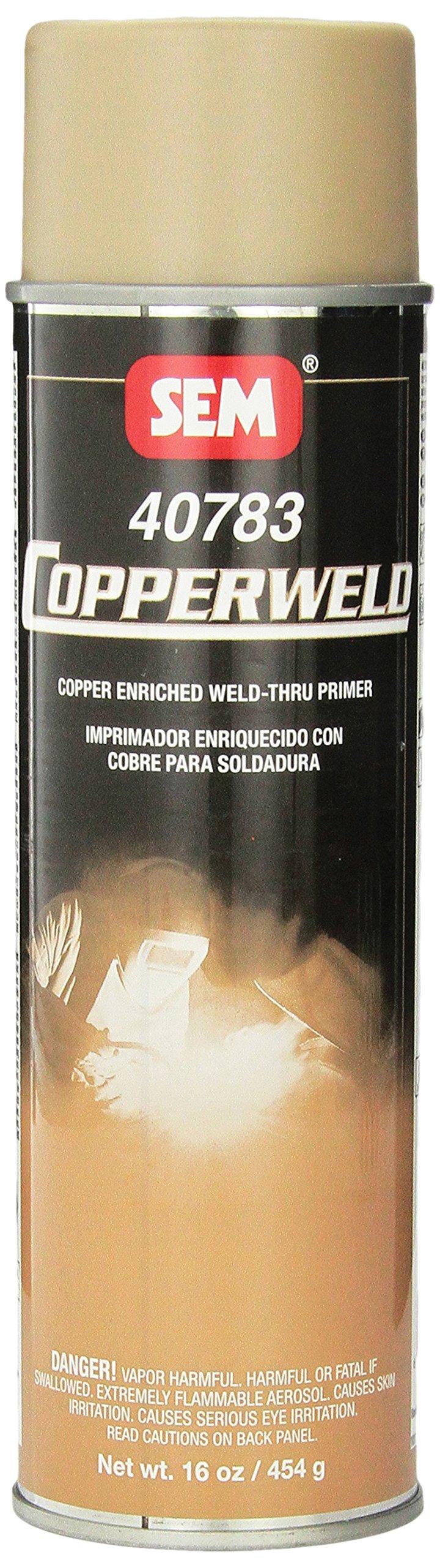 SEM 40783 Copperweld Weld-Thru Primer - 16 oz.