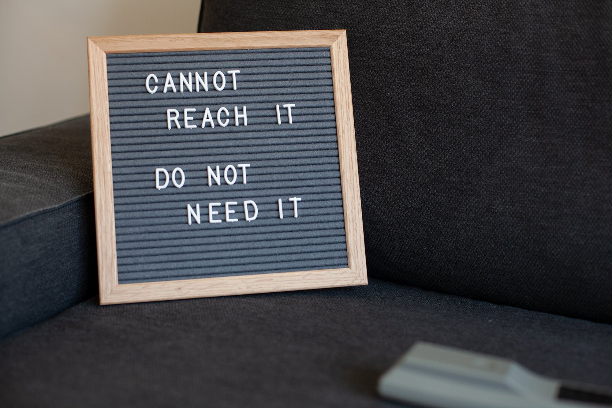 10x10 Inch Gray Felt Letter Board - Plentiful 680 Changeable White Letters to Cover Multiple Usage Scenarios - Durable Oak Frame by DraiviMedia (Image #2)