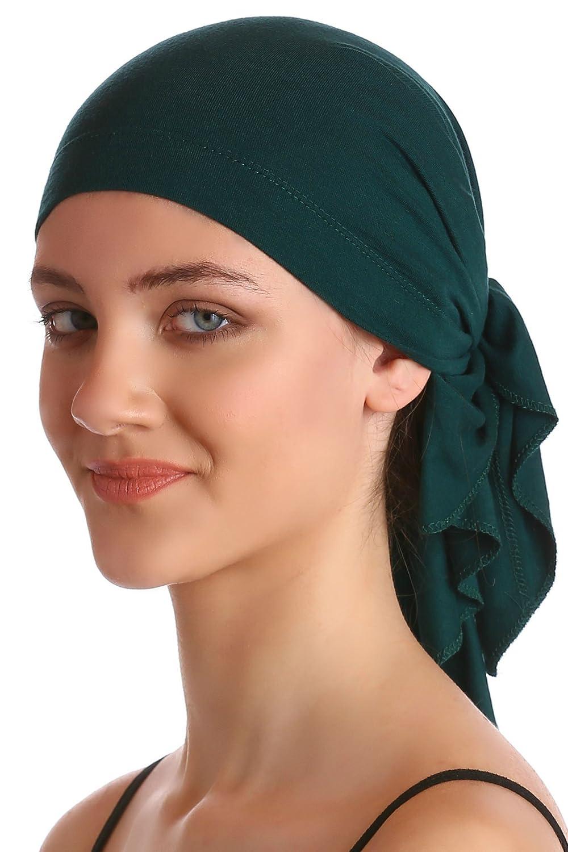 Deresina Headwear Bandana di Cotone Unisex (Beige)
