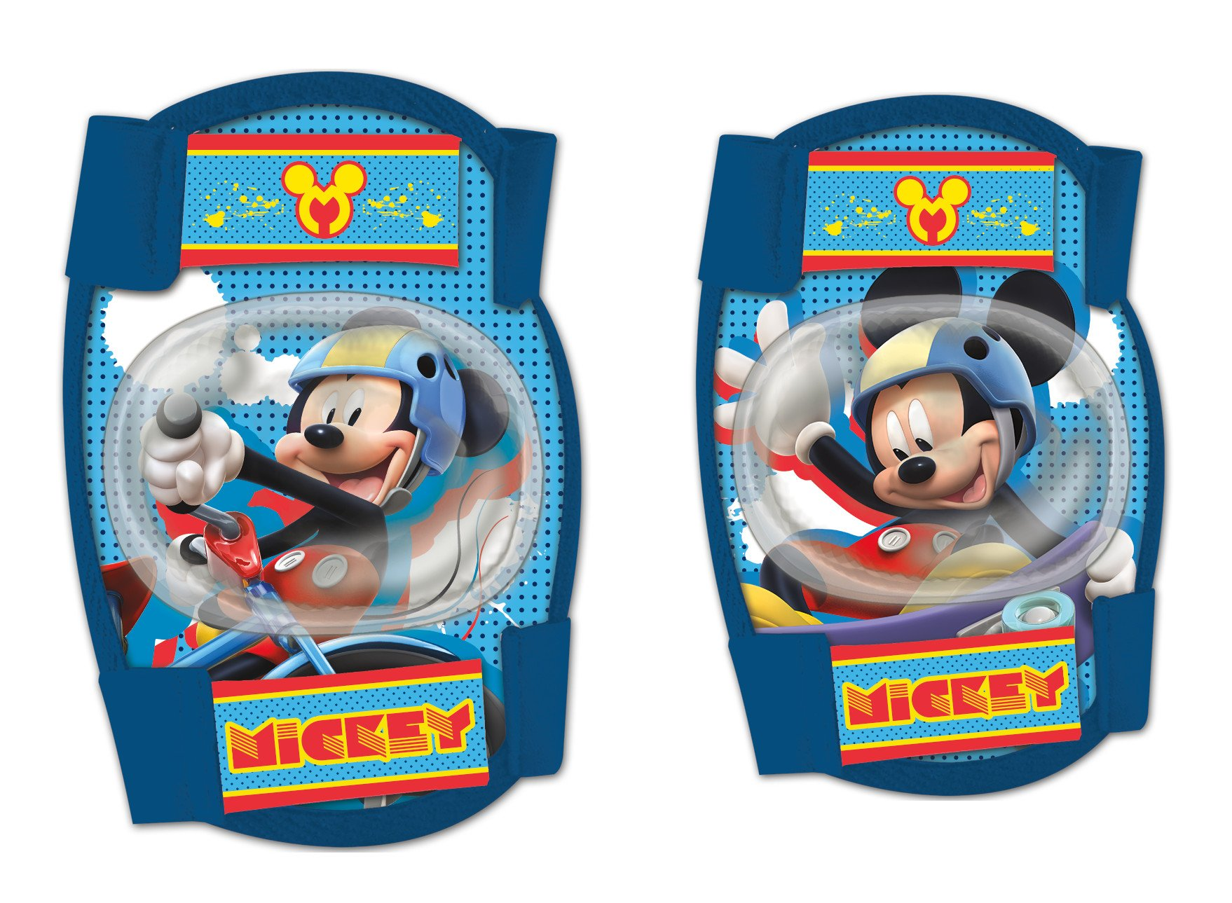 Disney Mickey Sports Childrens Elbow and Knee Pads Set Kids Skate