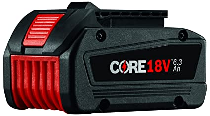 Amazon.com: Bosch GBA18V63 CORE18V - Batería de ion de litio ...