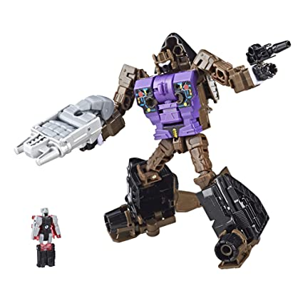 Amazoncom Transformers Combiner Wars Blast Off And Megatronus