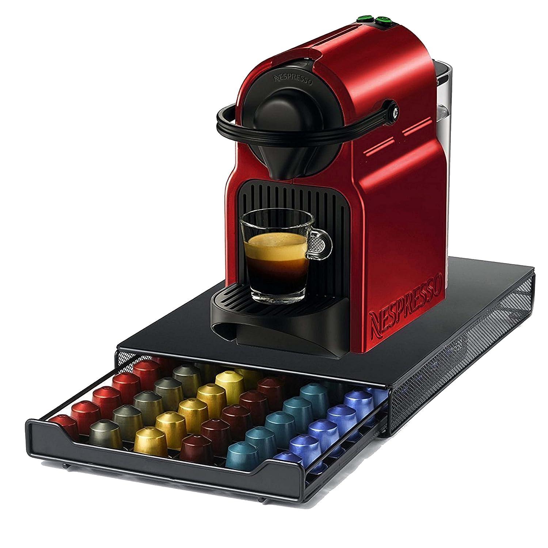 Ever Rich ® Cajón de almacenamiento de cápsulas Nespresso (Estilo de malla - Capacidad de 60 cápsulas): Amazon.es: Hogar