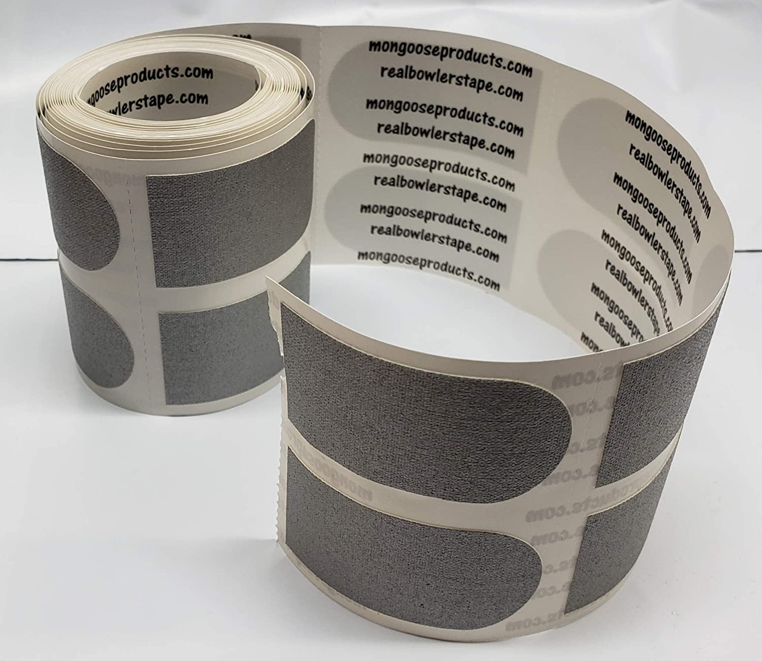"""Real Bowlers Tape 1/"""" Bowling Silver Tape 36 Piece Textured for Grip Bowling Ball"""