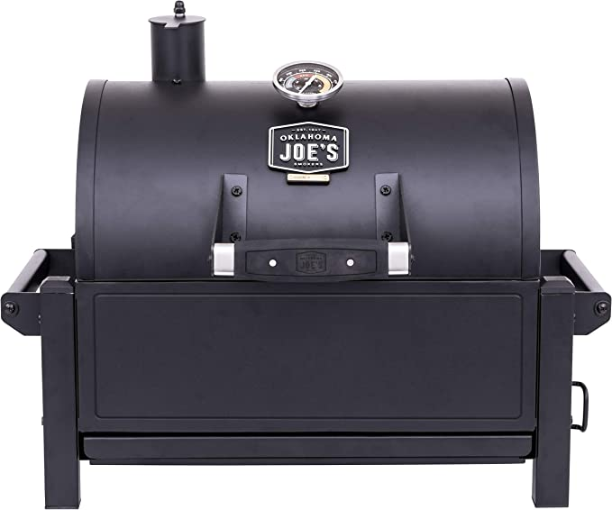 Oklahoma Joe's Rambler Portable Charcoal Grill - Best for Home & Camping Use