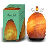 MAGIC SALT LIGHTING FOR YOUR SOUL Lampada di Sale dell Himalaya (4-6 kg Scatola cerigraphed)