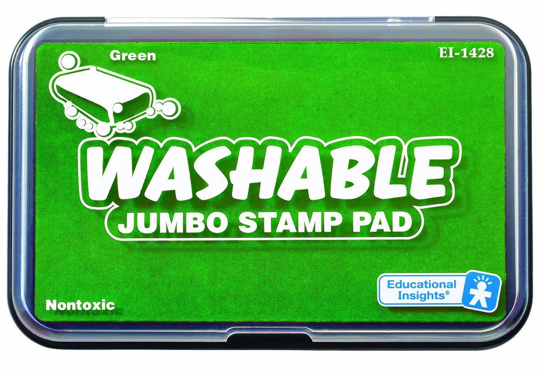 Educational Insights Jumbo Washable Stamp Pad Green