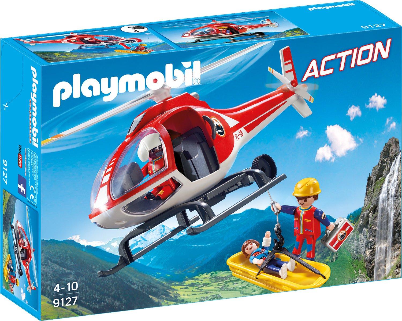 Playmobil 9127 - Playmobil Bergretter-Helikopter