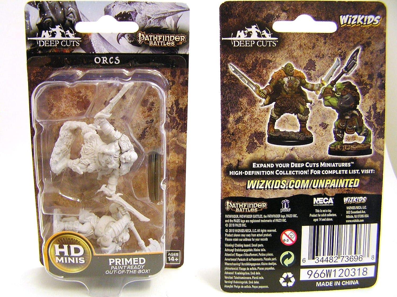 Orcs Pathfinder Deep Cuts Unpainted Minis