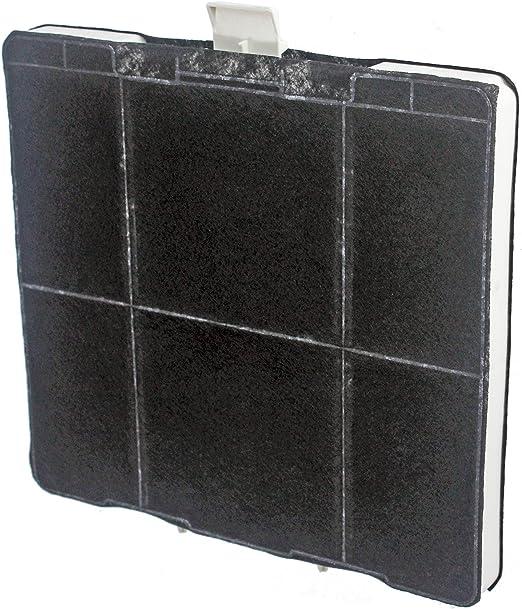 Spares2go cuadrado filtro de carbón para Bosch cocina Extractor de ventilación Campana: Amazon.es: Hogar