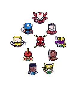 Exclusive Superhero Fridge magnets - Marvel Cinematic Universe Superheroes - Comics Superheroes Collectible Figures (Avengers-Endgame)