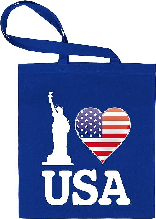 I Love Estados Unidos – American – Bolsa de tela estampado por una ...