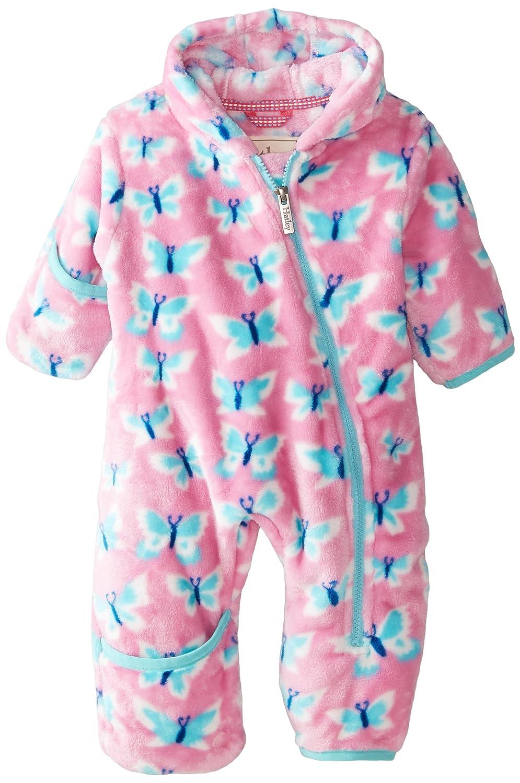 e993a1fe3d1e Amazon.com  Hatley Baby Girls  Fuzzy Fleece Bundler Silhouette ...