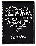 GIFT DAD MOM ~ A Loving Heart Felt Poem Plaque
