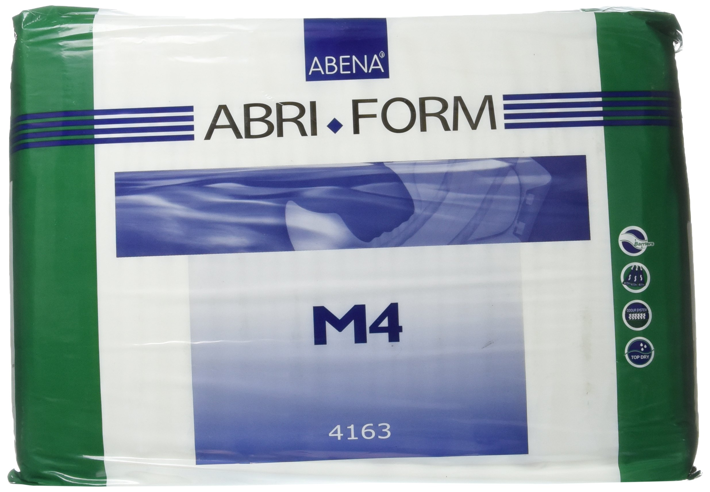 Abena Abri-Form Comfort Briefs, Medium, M4, 14 Count