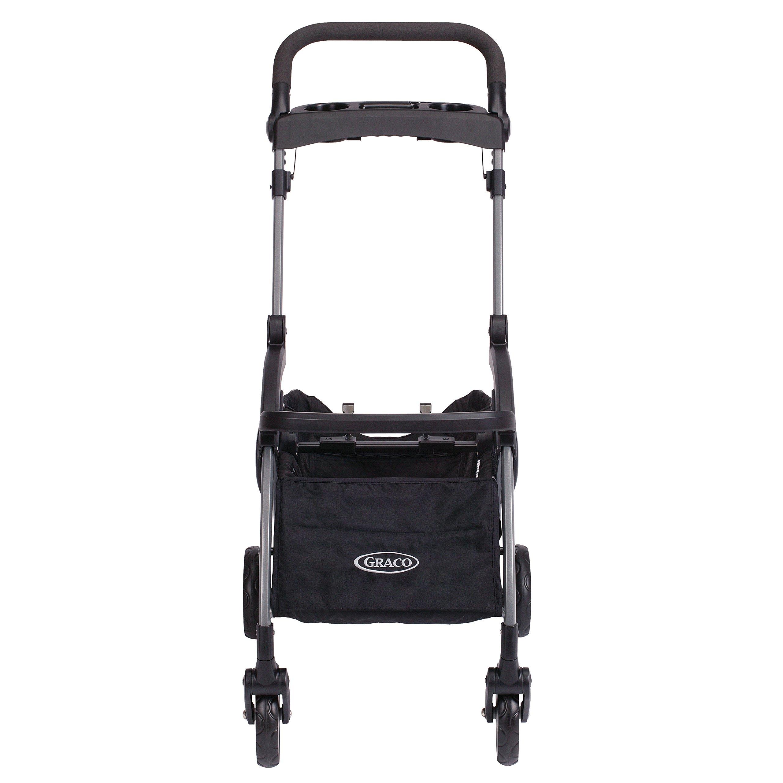 Graco SnugRider Elite Infant Car Seat Frame Stroller Black