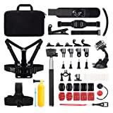 Victure Action Camera Accessories Outdoor Sports Combo Kit for GoPro Hero Session/ 5 Hero 1 2 3 3+ 4 5 SJ4000 5000 6000 DBPOWER AKASO VicTsing APEMAN WiMiUS Rollei QUMOX Lightdow Campark