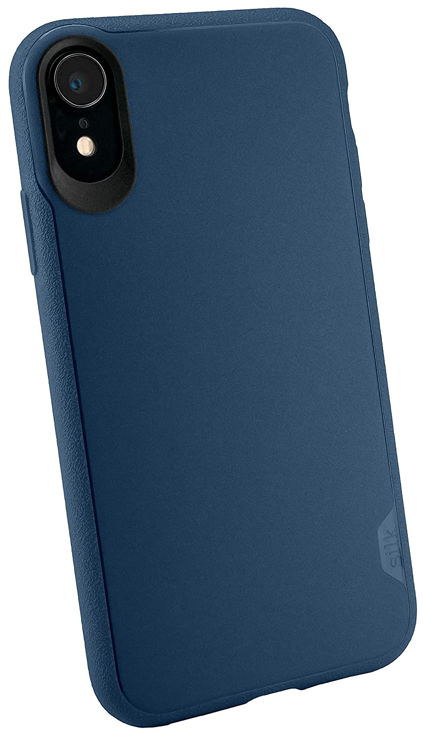 Silk iPhone XR Slim Case - Kung Fu Grip [Lightweight + Protective] Thin Cover for Apple iPhone 10R - Blues on The Green