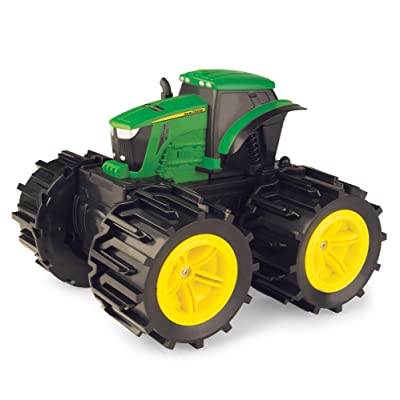 TOMY John Deere Monster Treads Mega Monster Wheels, Truck Toy: Toys & Games