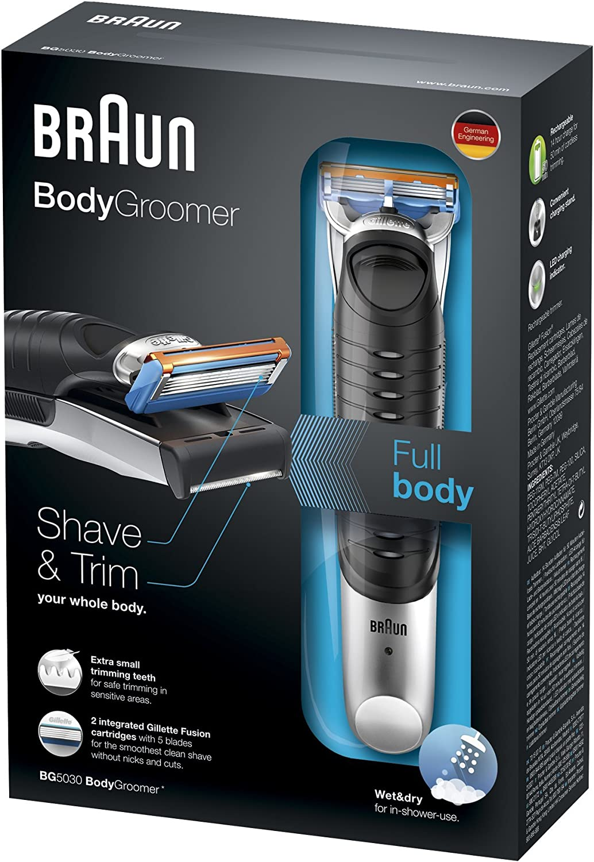 Braun BG5030 Body Trimmer by Braun: Amazon.es: Salud y cuidado ...