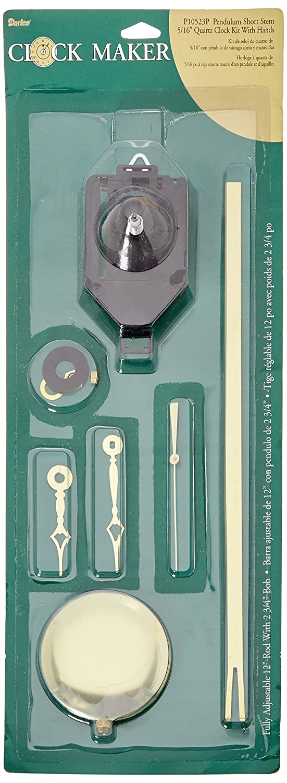 Amazon.com: Darice Short Pendulum with Hands Clock Kit: Arts, Crafts & Sewing