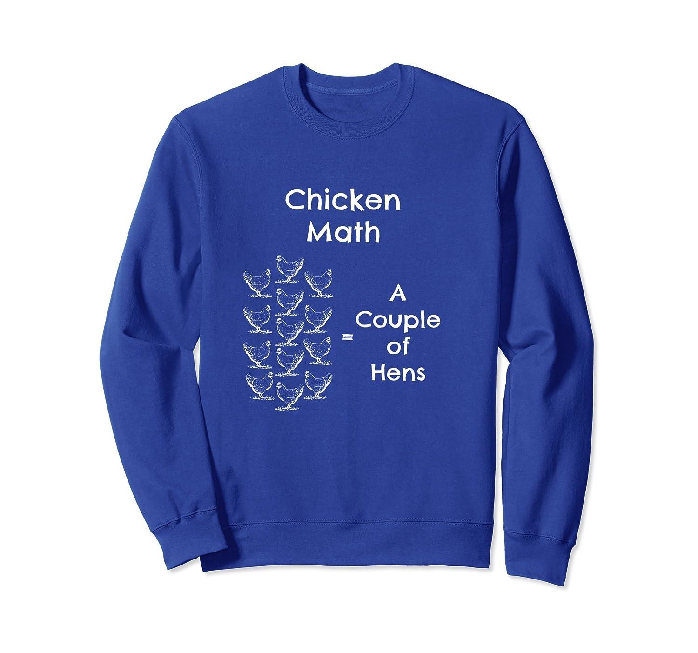 Chicken Farmer Lover Gardening Funny Math Sweatshirt-AZP