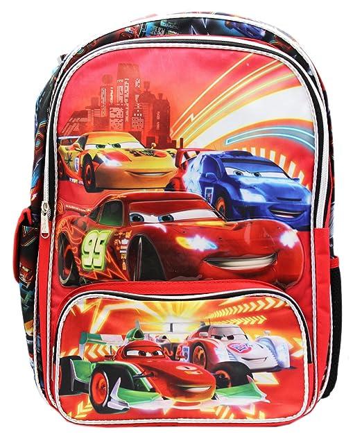 b19ea6f9118 Amazon.com | Disney Pixar's Cars Lightning McQueen Neon Racers Full ...