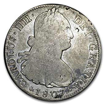 1823 MX - 1897 Mexico Silver 8 Reales Portrait and Pillars