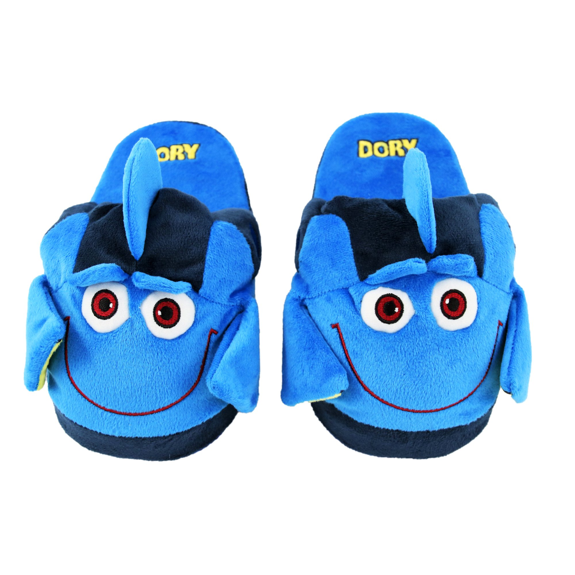 Stompeez Animated Dory Plush Slippers - Ultra Soft and Fuzzy - Fins Flap and Flutter as You Walk - Large by Stompeez (Image #1)