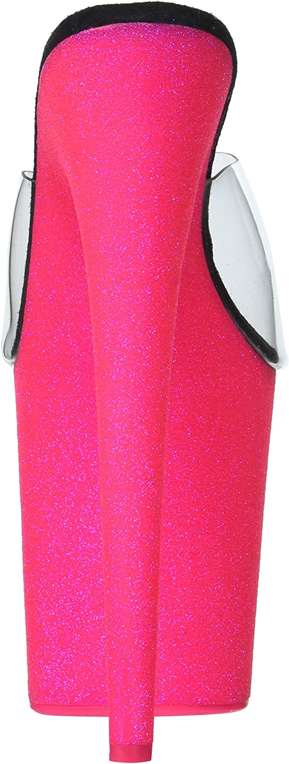 Pleaser womens Flam801uvg/C/Nhp Clr/Neon H. Pink