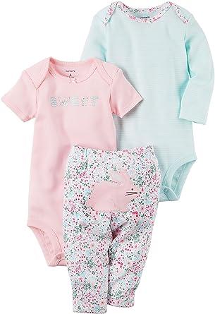 3199bb03ec34 Amazon.com  Carter s Baby Girls  3 Piece Bunny Set  Clothing