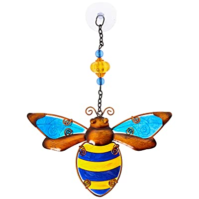 Regal Art & Gift 12331 Bee Sun Catcher, Yellow : Garden & Outdoor