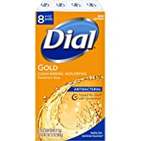 8-Count Dial Antibacterial Bar Soap, 4 Ounce (Gold)