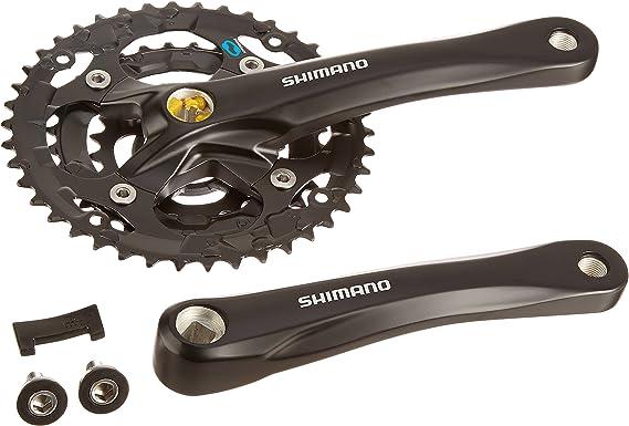 SHIMANO M361 Hybrid Crankset (Black)