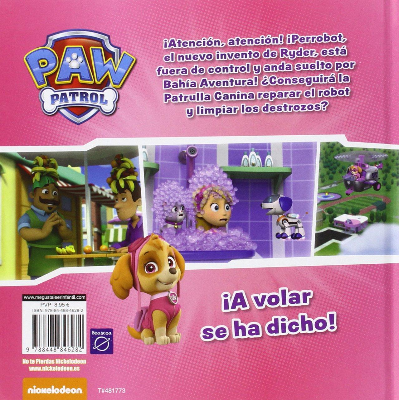 El súper robot de Ryder Paw Patrol | Patrulla Canina: Amazon.es: Nickelodeon, MYR Servicios Editoriales S.L.;: Libros